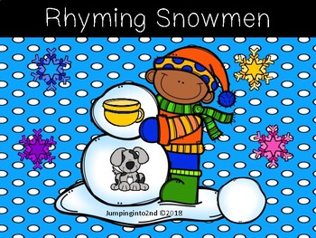 Rhyming Snowmen