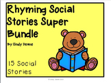Rhyming Social Skills Stories Super Bundle