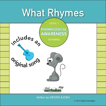 Rhyming Song -What Rhymes