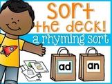 Rhyming Sort the Deck
