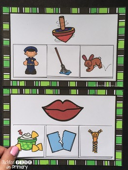 Rhyming Sounds Matching Game
