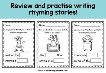 Rhyming Stories - Complete the Rhyme
