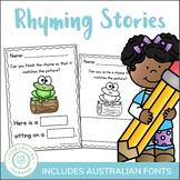Rhyming Worksheets - Complete the Rhyme
