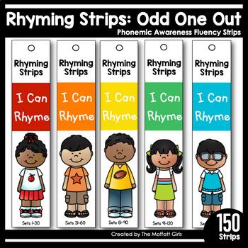 Rhyming Strips: Phonemic Awareness