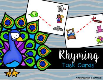 Rhyming - Task Cards