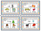Rhyming Task Cards - CVC - pictures and words - short vowe