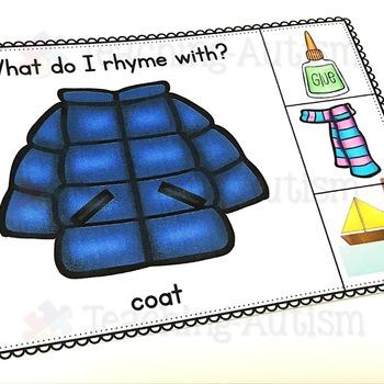 Rhyming Task Cards