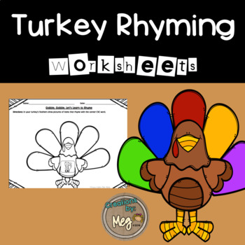 Rhyming Turkeys {FALL FREEBIE}