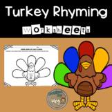 Rhyming Turkeys {FALL FREEBIE}