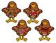 Rhyming Turkeys Thanksgiving Fall File Folder Center CVC Word Families