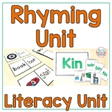 Rhyming Unit  Literacy Unit for Special education - Autism Resource