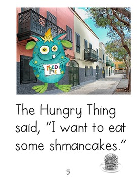 Phonemic Awareness & Phonics Feast {Feed Me!} featuring The Hungry Thing