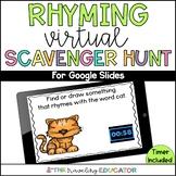 Rhyming Virtual Scavenger Hunt
