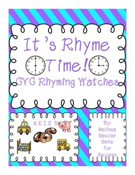 Rhyming Watches  { Short Vowels}
