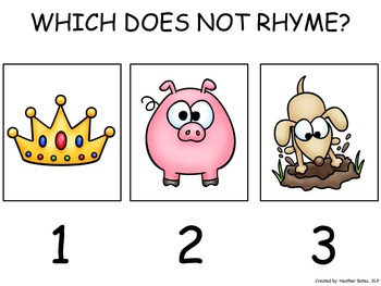 Rhyming - Which Does Not Belong?