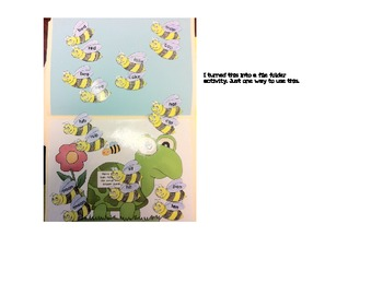 Rhyming Word 'Bees'   Set 1