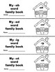 Rhyming Word Book (Word Family Books)
