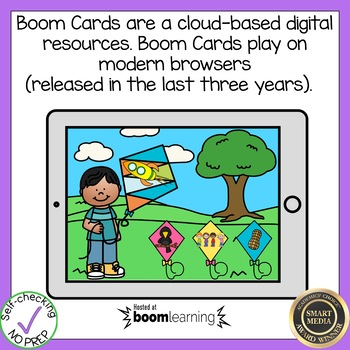 Boom Cards Rhyming Words