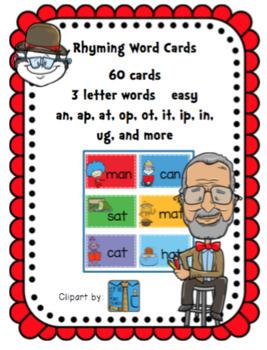 Rhyming Word Cards