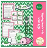 Rhyming Word Cards Green Eggs