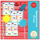Rhyming Word Cards for 1st and 2nd Grade