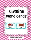 Rhyming Word Cards or Center