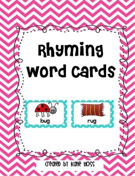 list of rhyming words in english pdf