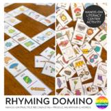 Rhyming Word Domino Game BUNDLE