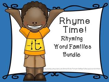 Rhyming Word Families Bundle