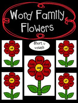 Rhyming Word Families - Short u