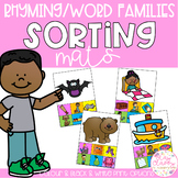 Rhyming Sorting Mats