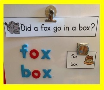 Rhyming Word Family Activity