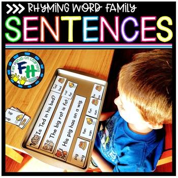 Rhyming Word Family Sentences Activity