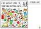 Rhyming Word Family I Spy Mats - ED/EN/ET PACK