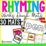 Rhyming Word Family Phonemic Awareness - Dough Mats