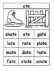 Rhyming Word Family Posters K-1-2 Assortment in BW Only