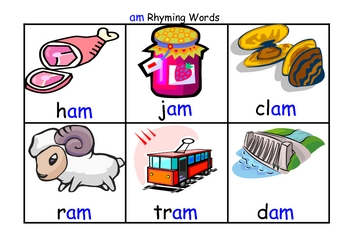 Witty image regarding rhyming flash cards printable