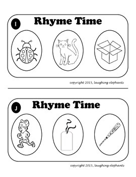 Rhyming Word Games for Guided Reading and Intervention