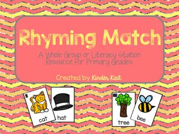 Rhyming Word Match