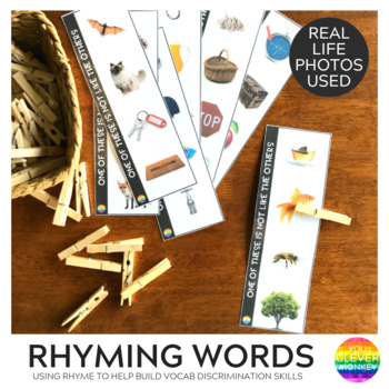 Rhyming Word Match Cards