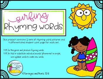 Rhyming Word May Activities No Prep!