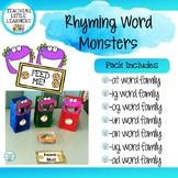 Rhyming Word Monsters