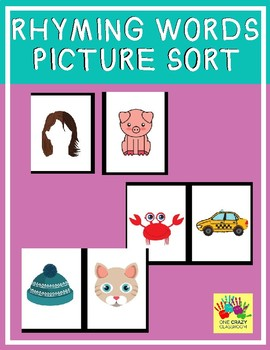 Rhyming Word Picture Cards