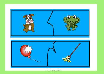 Rhyming Word Picture Puzzles