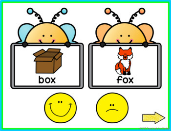 Rhyming Words {Interactive Game}