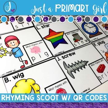 Rhyming Word Scoot