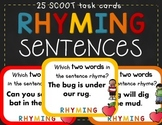 Rhyming Word Sentences