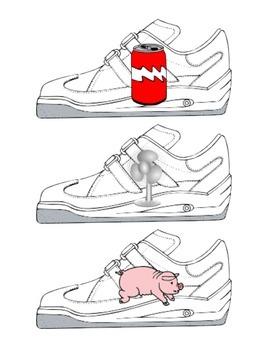 Rhyming Word Shoe Matching
