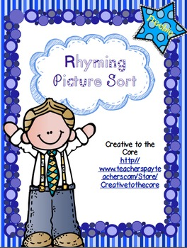 Rhyming Word Sort/Concentration Freebie!