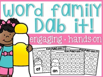 Rhyming Word Word Dab It!